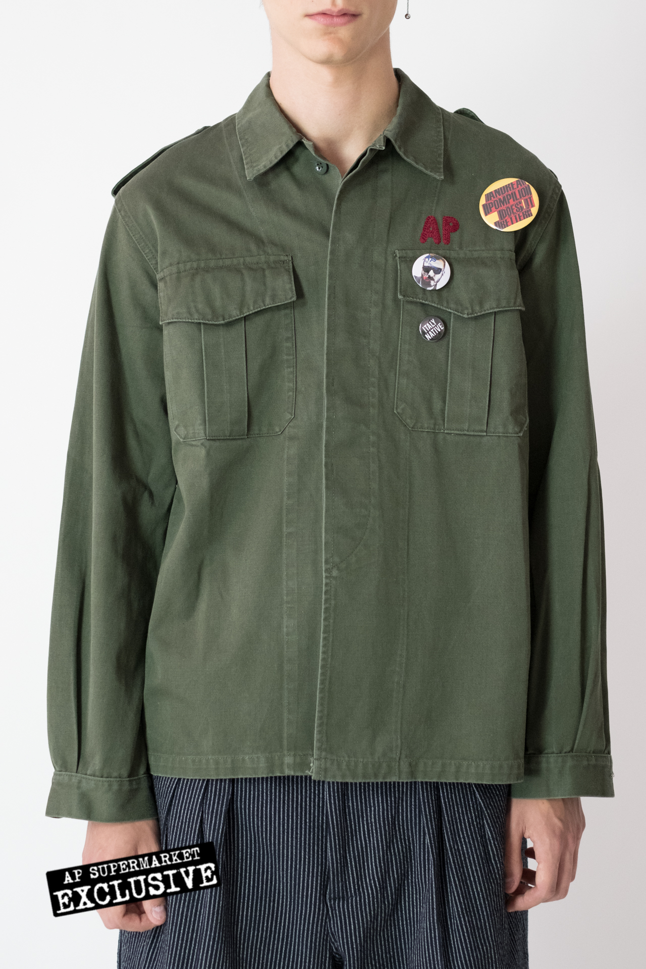 Andrea Pompilio Selected Jackets APmilitary